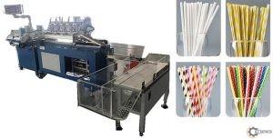 Maszyna do produkcji słomek papierowych DM – PS
