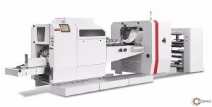Maszyna do produkcji toreb papierowych MM - 250/350 FSPB