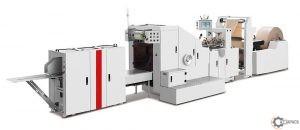 Maszyna do produkcji toreb papierowych MM - 190/330/450 SBPB