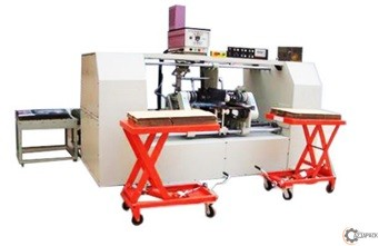 Półautomatyczna sklejarka KM-1800 DP